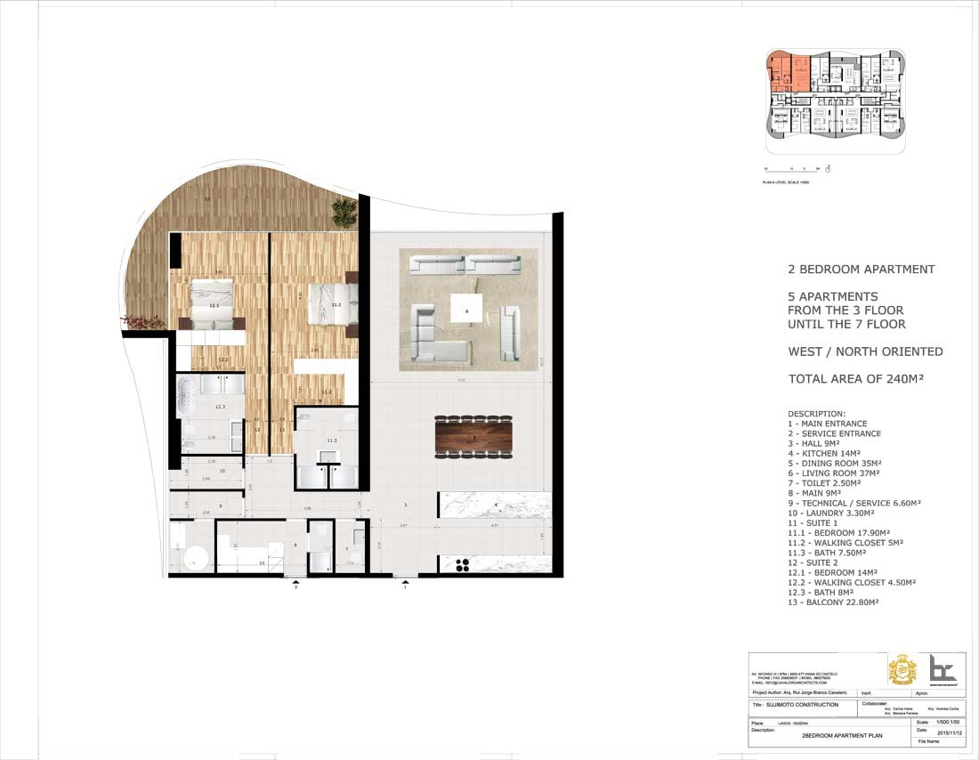 LorenzoBySujimoto Luxury Apartments 2BEDROOM_TYPE-B